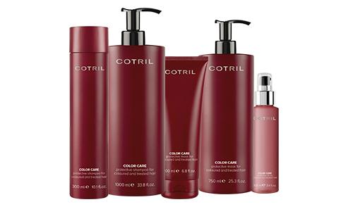 Productos profesionales para tratar, finalizar, fijar y dar forma al cabello