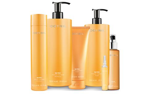 Una fuente de nutrición para conseguir un cabello extraordinariamente suave y brillante.